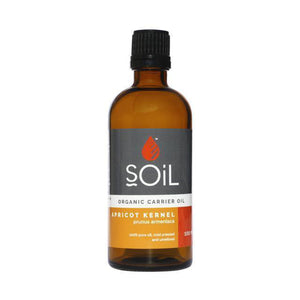 SOiL Organic Apricot Kernel Oil 100ml-Just Beauty Organics Store