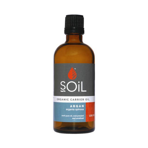 SOiL Organic Argan Oil 100ml-Just Beauty Organics Store