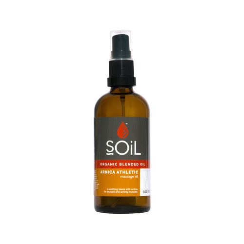 SOiL Organic Arnica Athletic Massage Oil 100ml-Just Beauty Organics Store