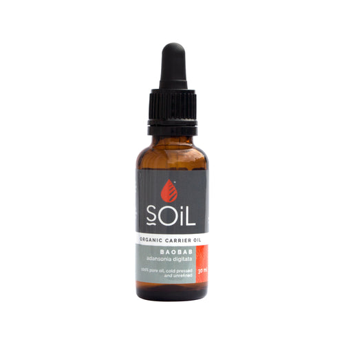 SOiL Organic Baobab Oil 30ml-Just Beauty Organics Store