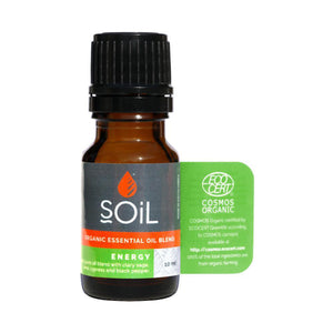 SOiL Organic Blends - Energy 10ml-Just Beauty Organics Store