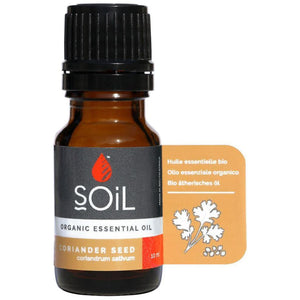 SOiL Organic Coriander Seed Essential Oil 10ml-Just Beauty Organics Store