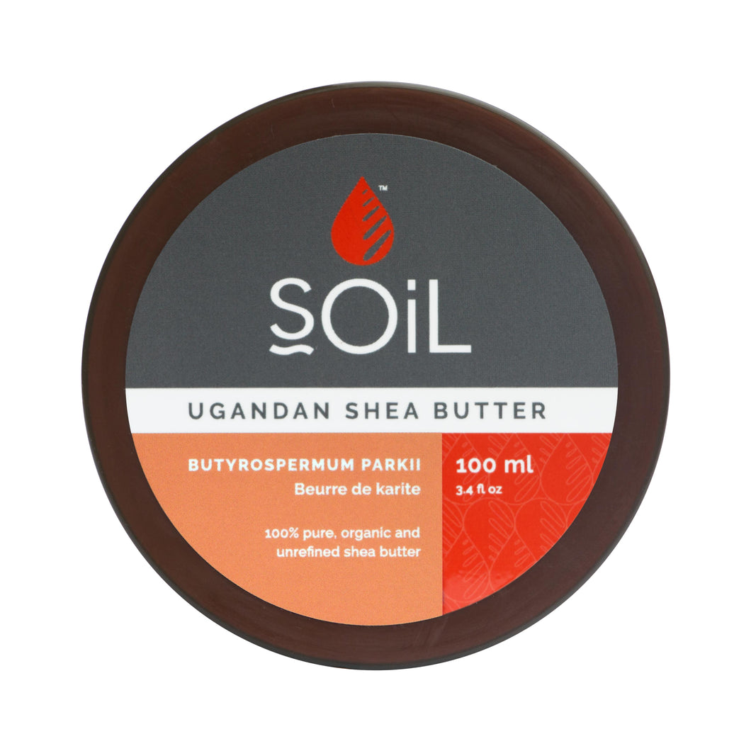 SOiL Organic Pure Shea Butter 100ml-Just Beauty Organics Store