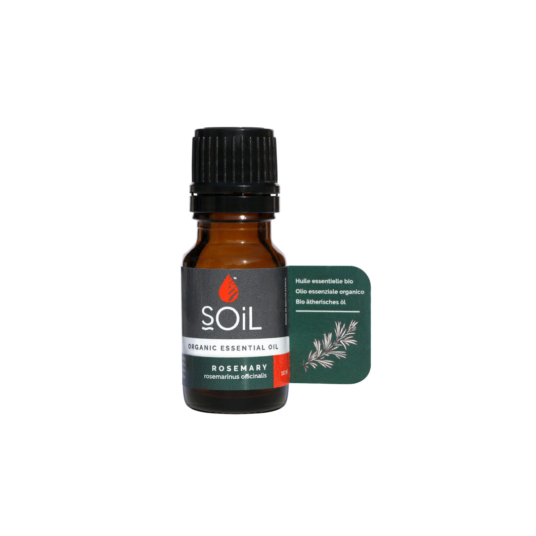 SOiL Organic Rosemary Essential Oil 10ml-Just Beauty Organics Store