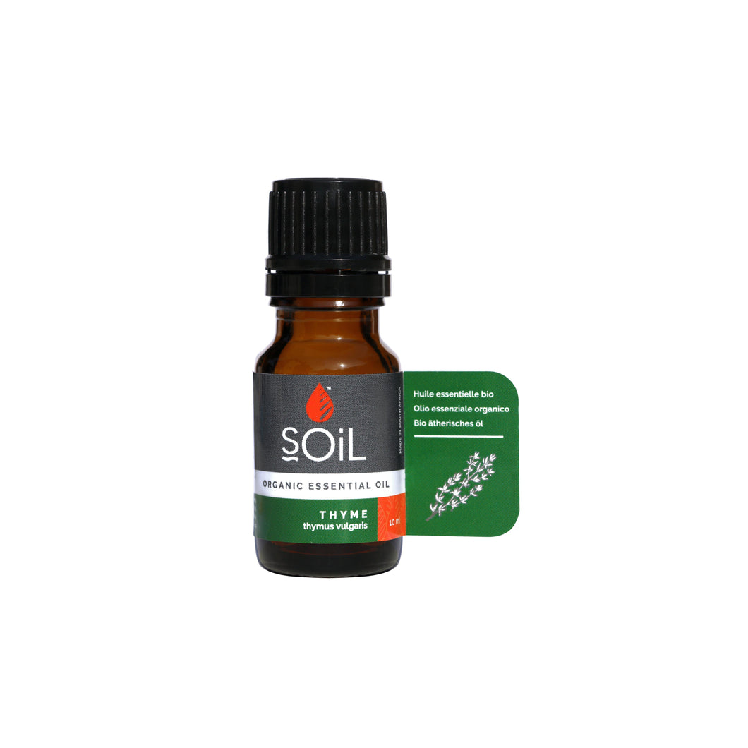 SOiL Organic Thyme Essential Oil 10ml-Just Beauty Organics Store