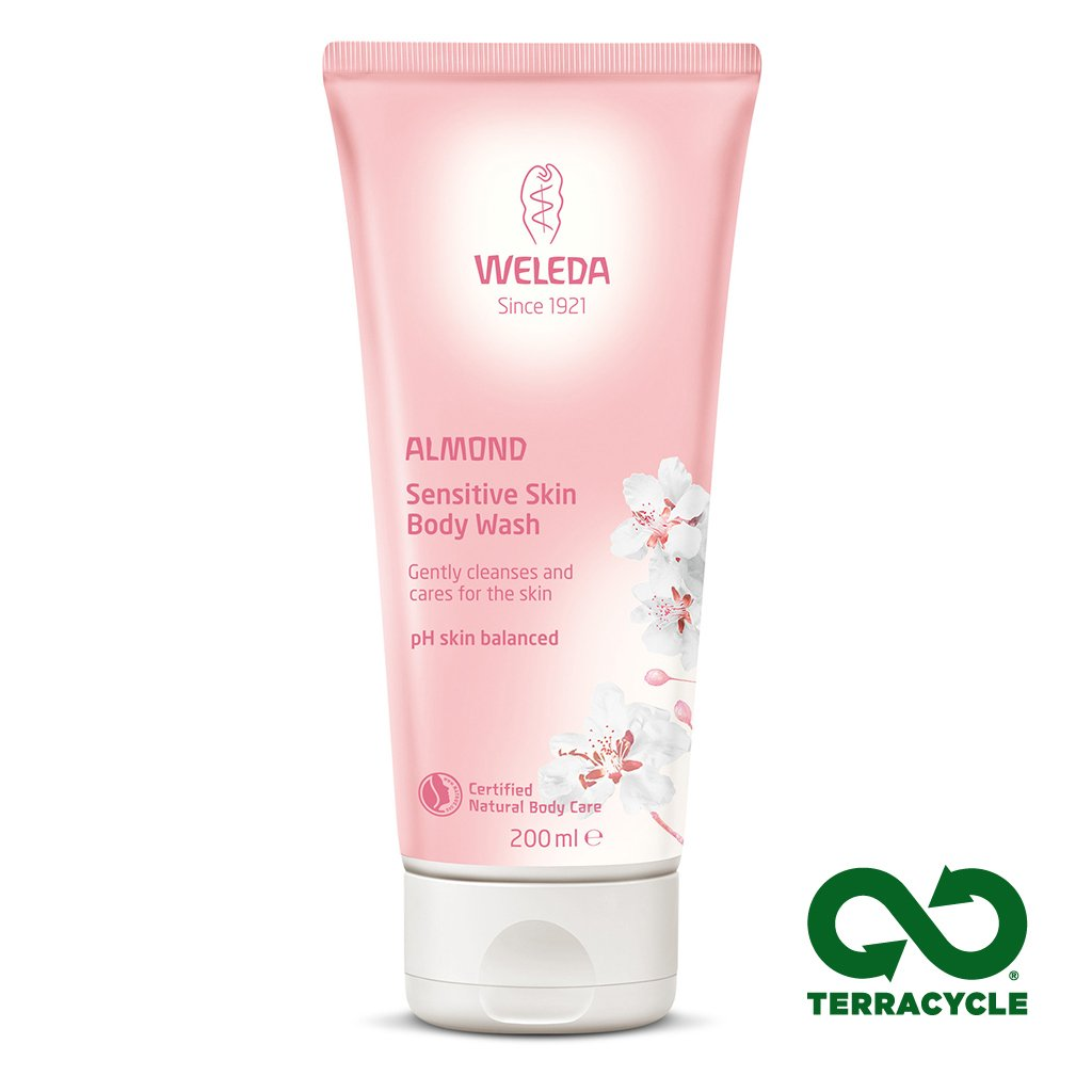 Weleda Almond Sensitive Body Wash 200ml-Just Beauty Organics Store