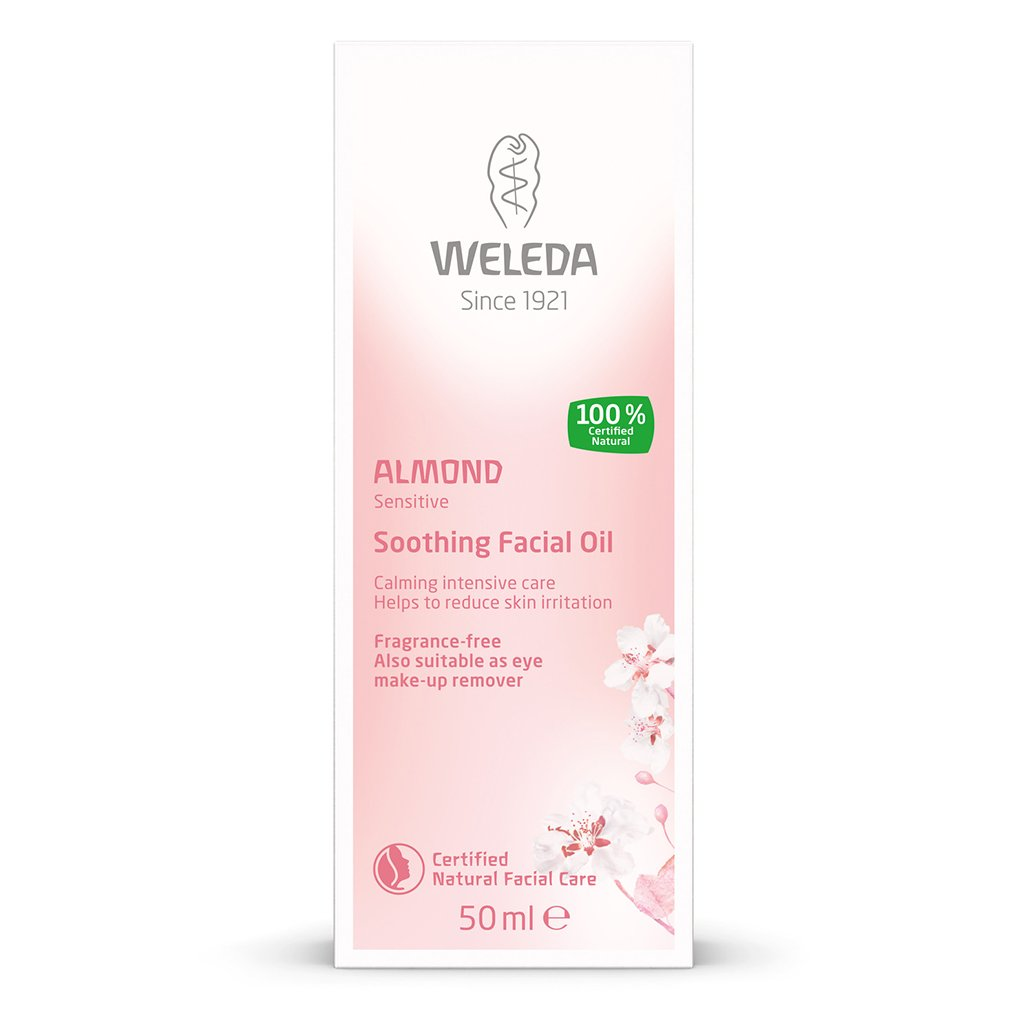 Weleda Almond Sensitive Soothing Facial Oil 50ml-Just Beauty Organics Store