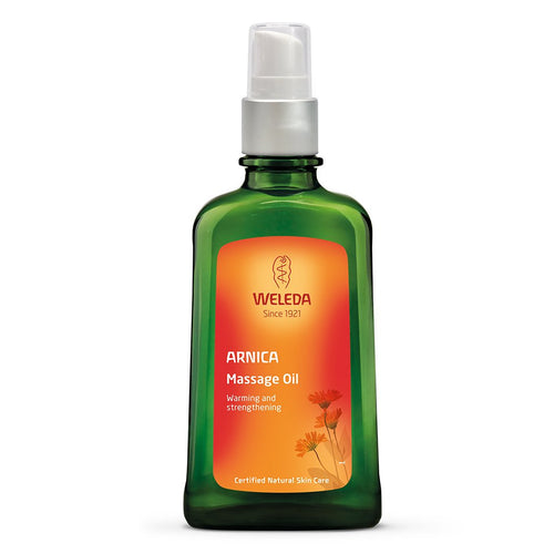 Weleda Arnica Massage Oil 100ml-Just Beauty Organics Store
