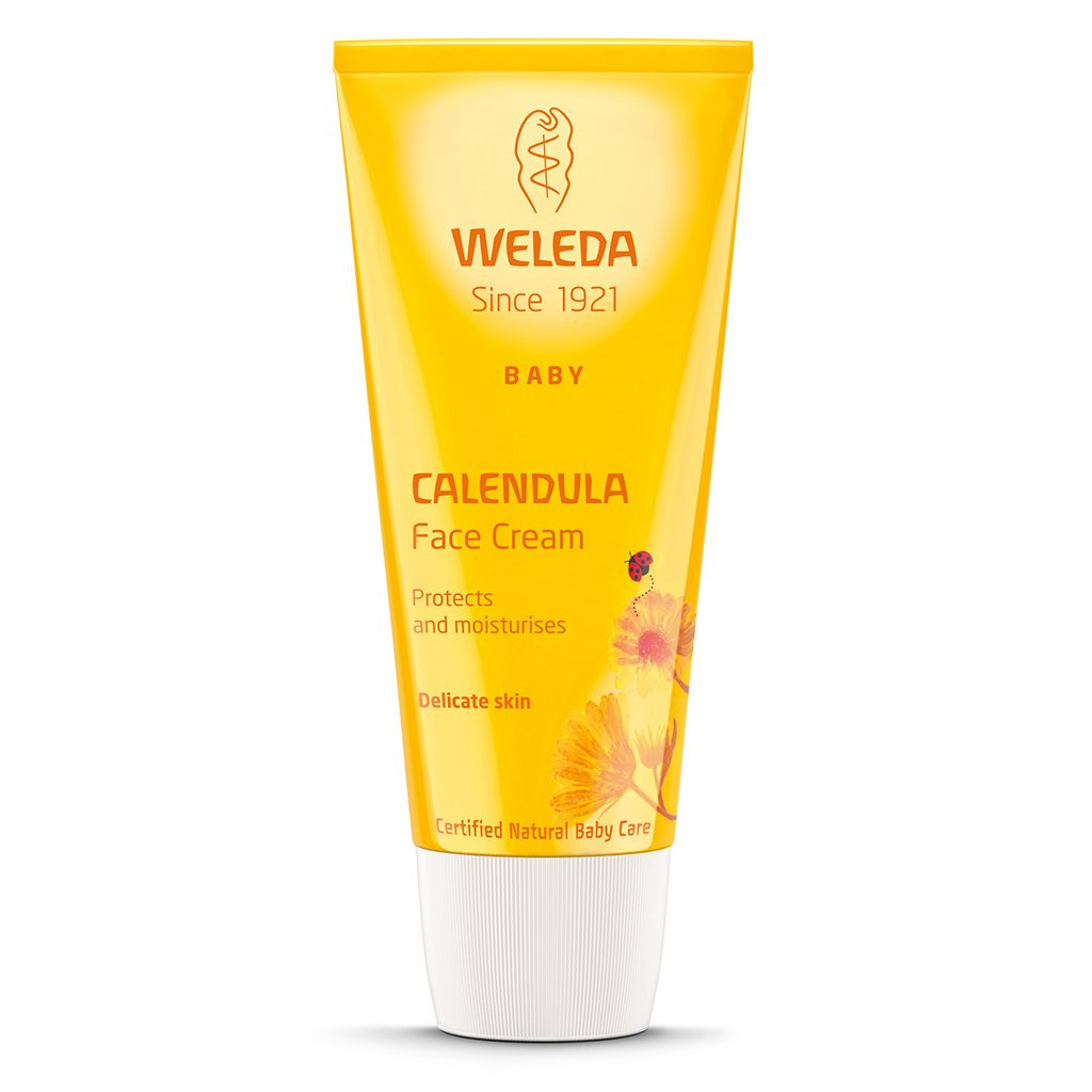 Weleda Baby Calendula Face Cream 50ml-Just Beauty Organics Store