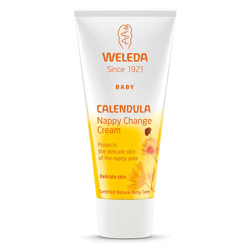 Weleda Baby Calendula Nappy Cream 75ml-Just Beauty Organics Store
