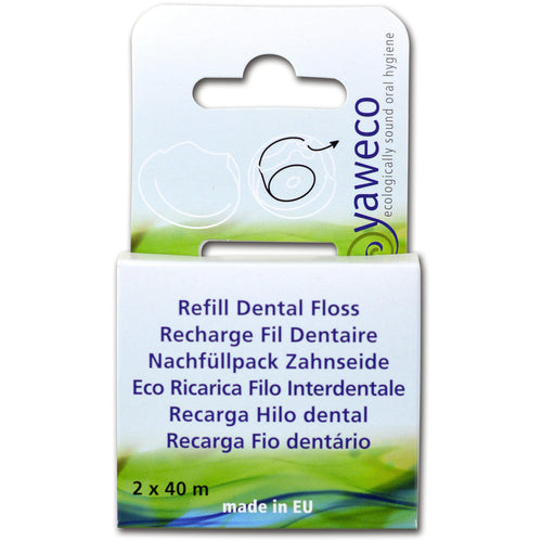 Yaweco Dental Floss Refill pack-Just Beauty Organics Store