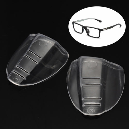 1 Pair New Safety Glasses Protective Covers for Eyewear Goggles Side Shields TPU Polyurethane Clear Flap Side Protector