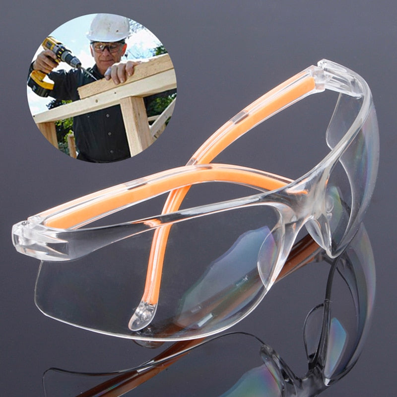 NEW Safety Glasses Transparent Dust-Proof Glasses Working Glasses Lab Dental Eyewear Splash Protective Anti-wind Glasses Goggles