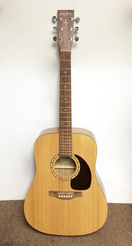 Simon & Patrick Luthier Acoustic Guitar Blonde Wood Cedar