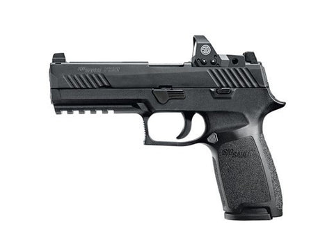 SIG SAUER P320 RX 9MM FULL SIZE ROMEO1 OPTIC