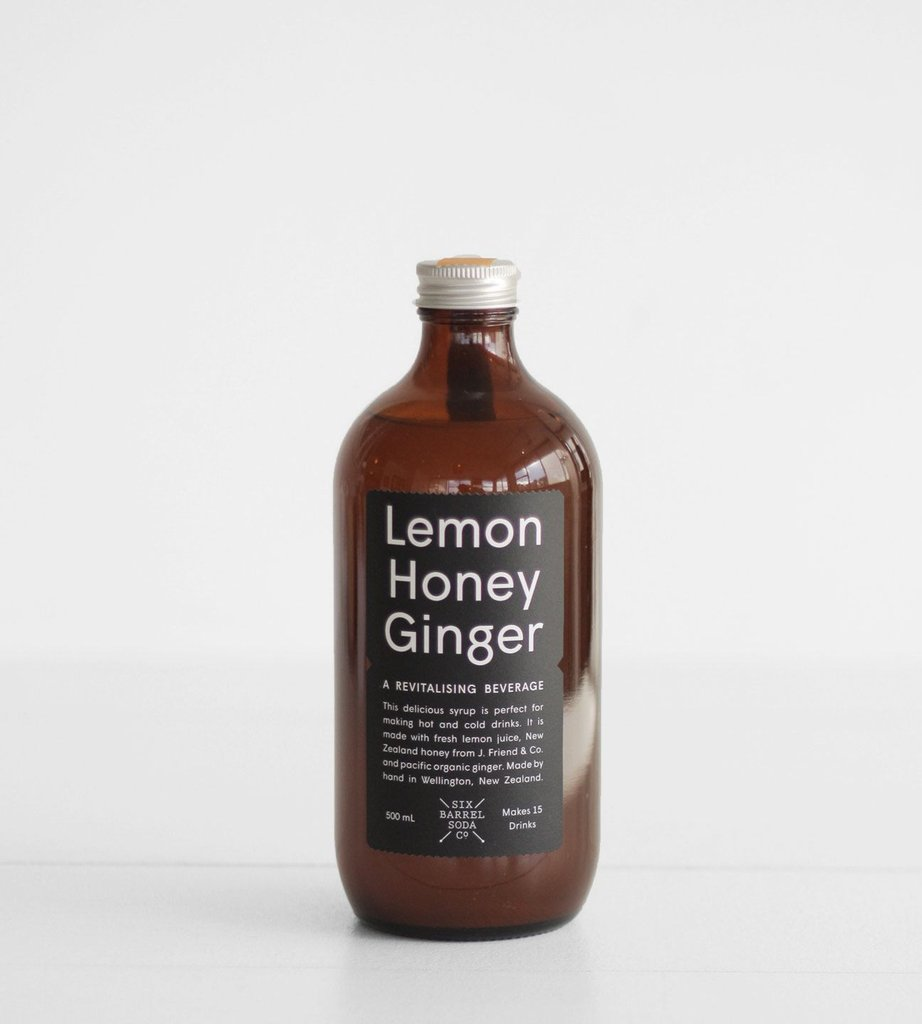 Lemon Honey Ginger Syrup