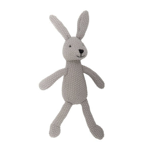 Wild Ones Grey Knitted Bunny
