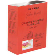 Load image into Gallery viewer, Coconut Raspberry Kaffir Lime Cake Kit