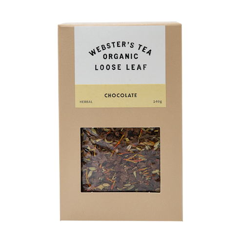 Organic Loose Tea in Chocolate