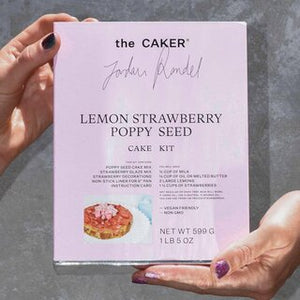 Lemon Strawberry Poppy Seed Cake Kit