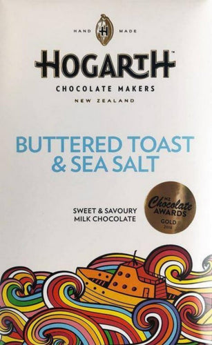 Buttered Toast & Sea Salt Milk Chocolate