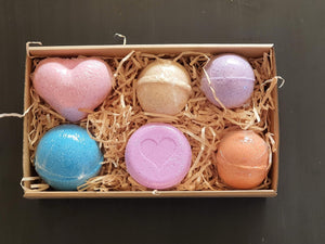 The Blend Bath Bomb Box - Dusty Blend