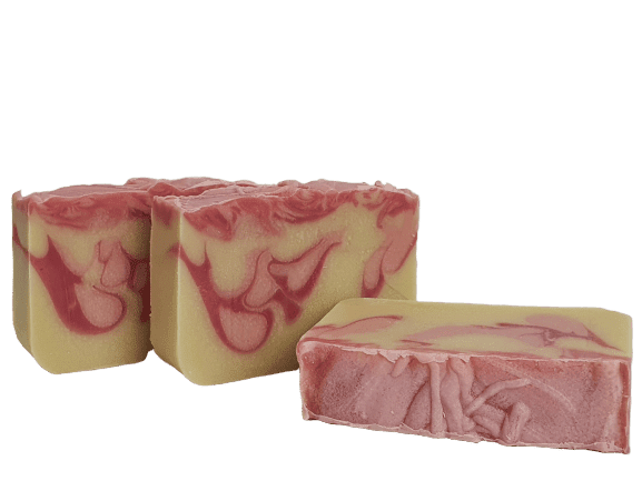 Pink Swirl Cold Process Soap - Dusty Blend
