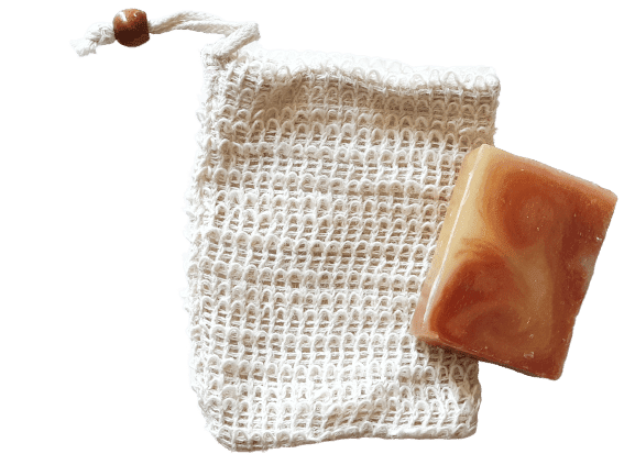 Sisal Eco Soap Bags - Dusty Blend