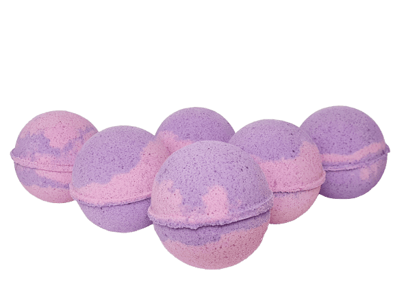 Cosmos Bath Bombs - Black Raspberry & Vanilla - Dusty Blend