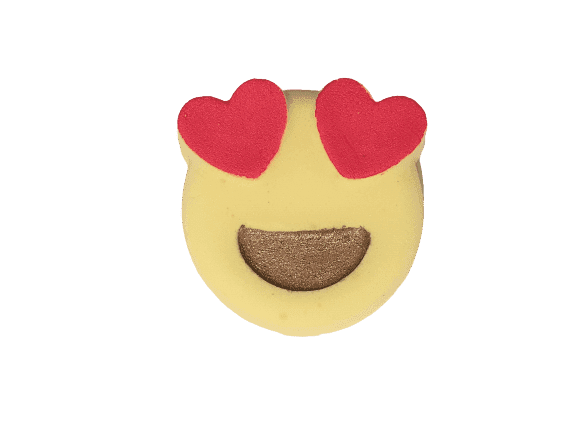 Emoji Love Bath Bomb - Dusty Blend