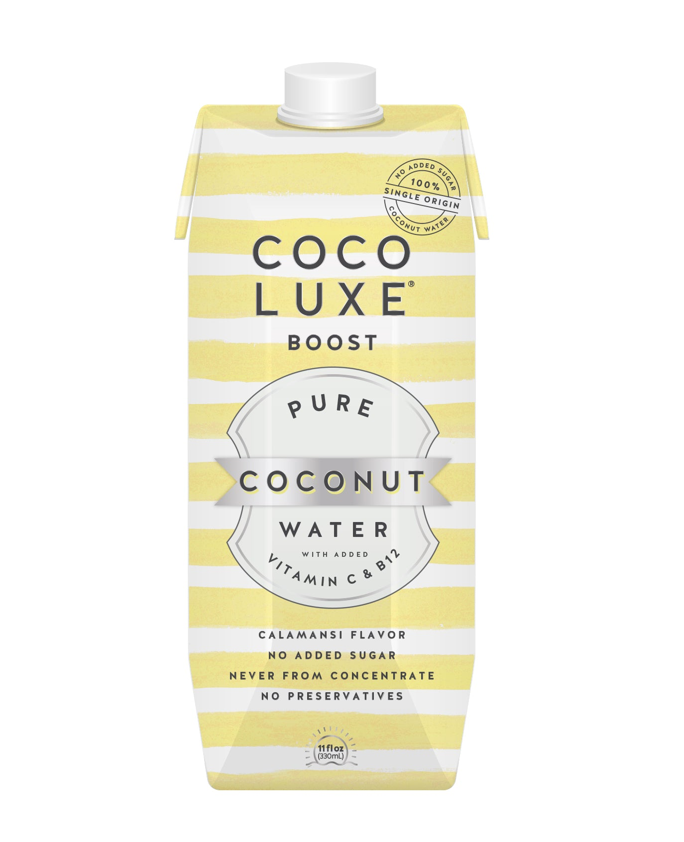 Coco Luxe Boost with Vitamin B12 & C - Case of 12 (11oz)