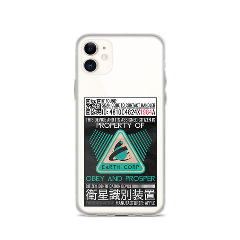 TRACKING DEVICE - CYBERPUNK INSPIRED CELLPHONE CASE (IPHONE)