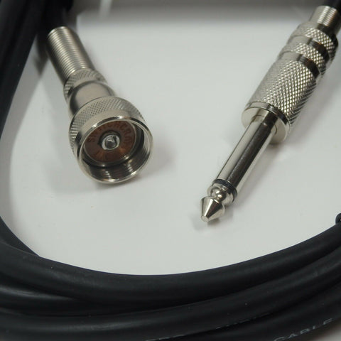 "Amphenol 75-MC1F Switchcraft 2051F to 1/4"" Cable for Vintage Microphone Guitar"