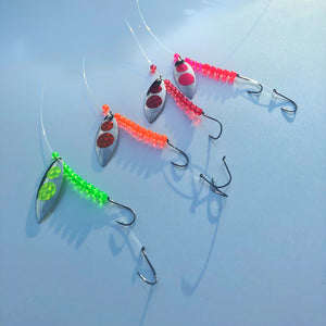 Signature Series Silver Blade Worm Harness Bundle