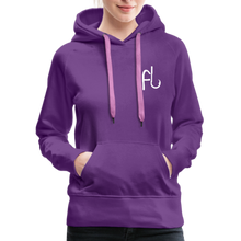Load image into Gallery viewer, Flip Lures White Logo Women's Sweater - purple