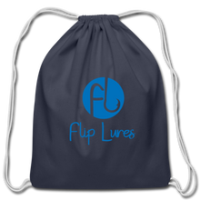 Load image into Gallery viewer, Flip Lure Drawstring Bag - navy