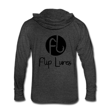 Load image into Gallery viewer, Flip Lures Unisex Tri-Blend Hoodie Shirt - heather black