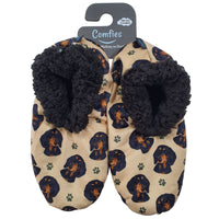 Dachshund Dog Slippers - Women Size 5-11 - Anti-Slip - Comfies