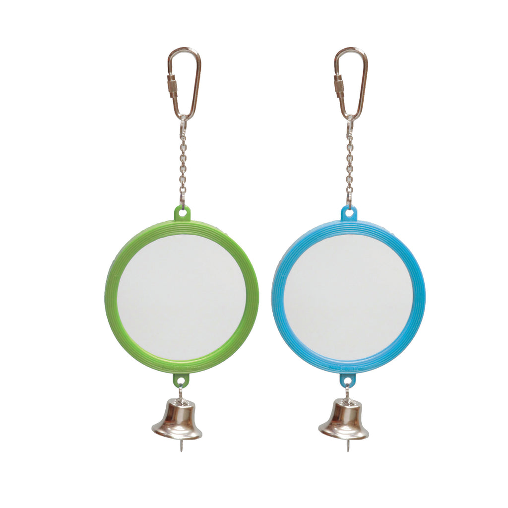 Round Mirror with Bell - Kazoo Pet Co