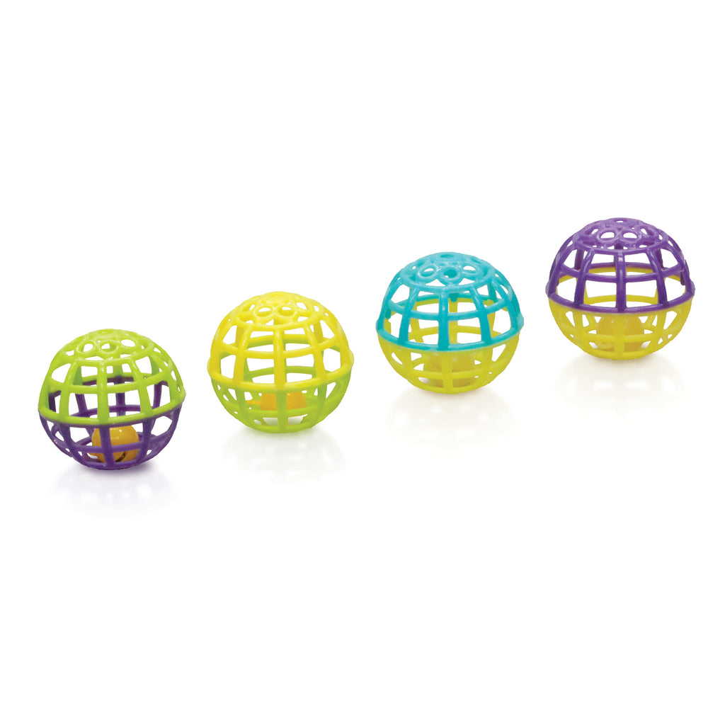 Roller Balls - 4 Pack - Kazoo Pet Co