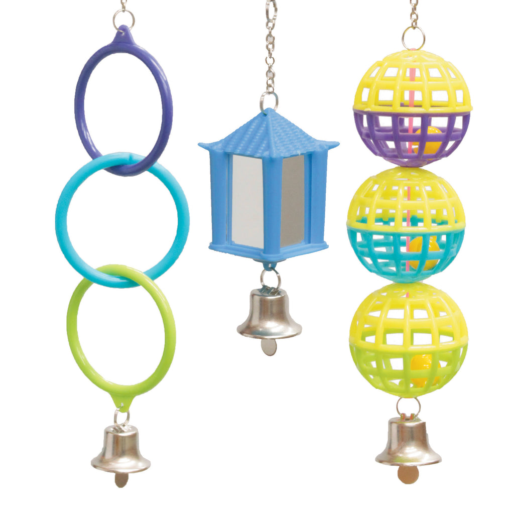 Mirror Ball Ring Set - Kazoo Pet Co