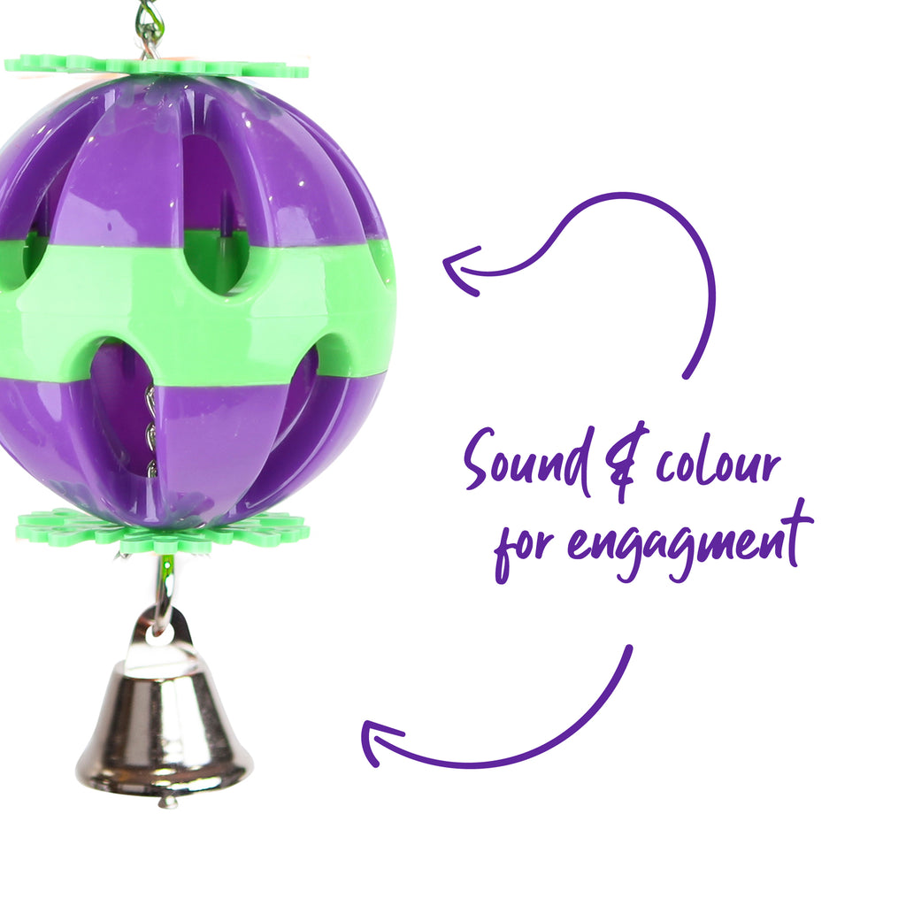 Colourful Ball & Bell - Kazoo Pet Co
