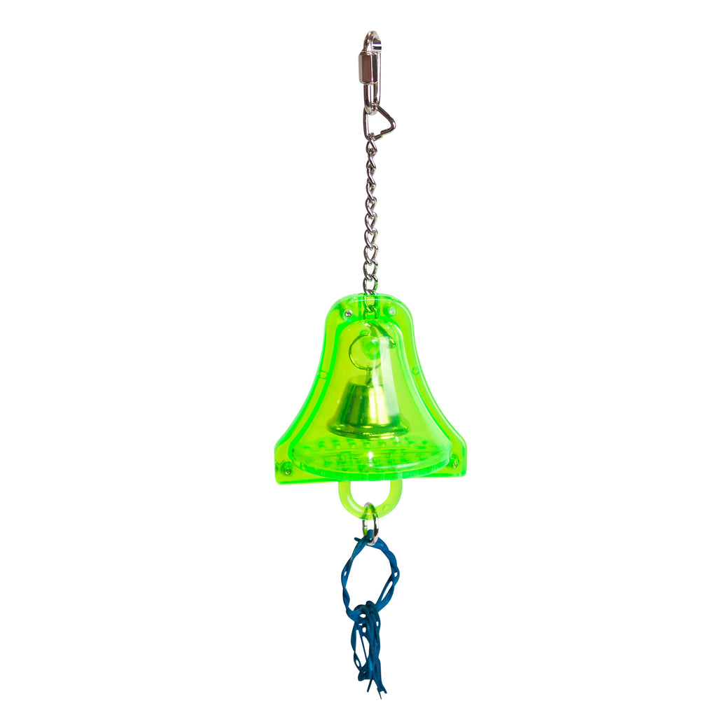 Acrylic Bell & Wicker Rings - Kazoo Pet Co