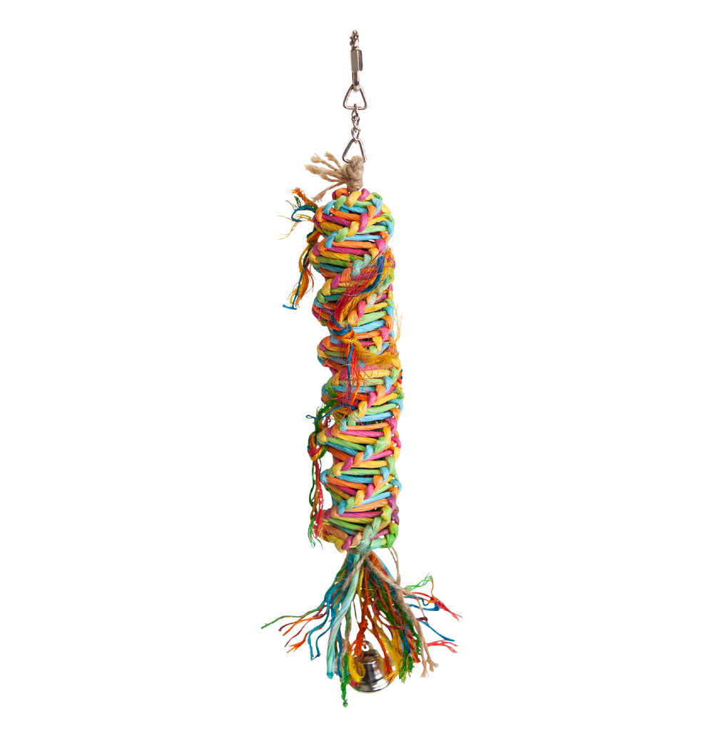 Rainbow Sisal Tower - Kazoo Pet Co