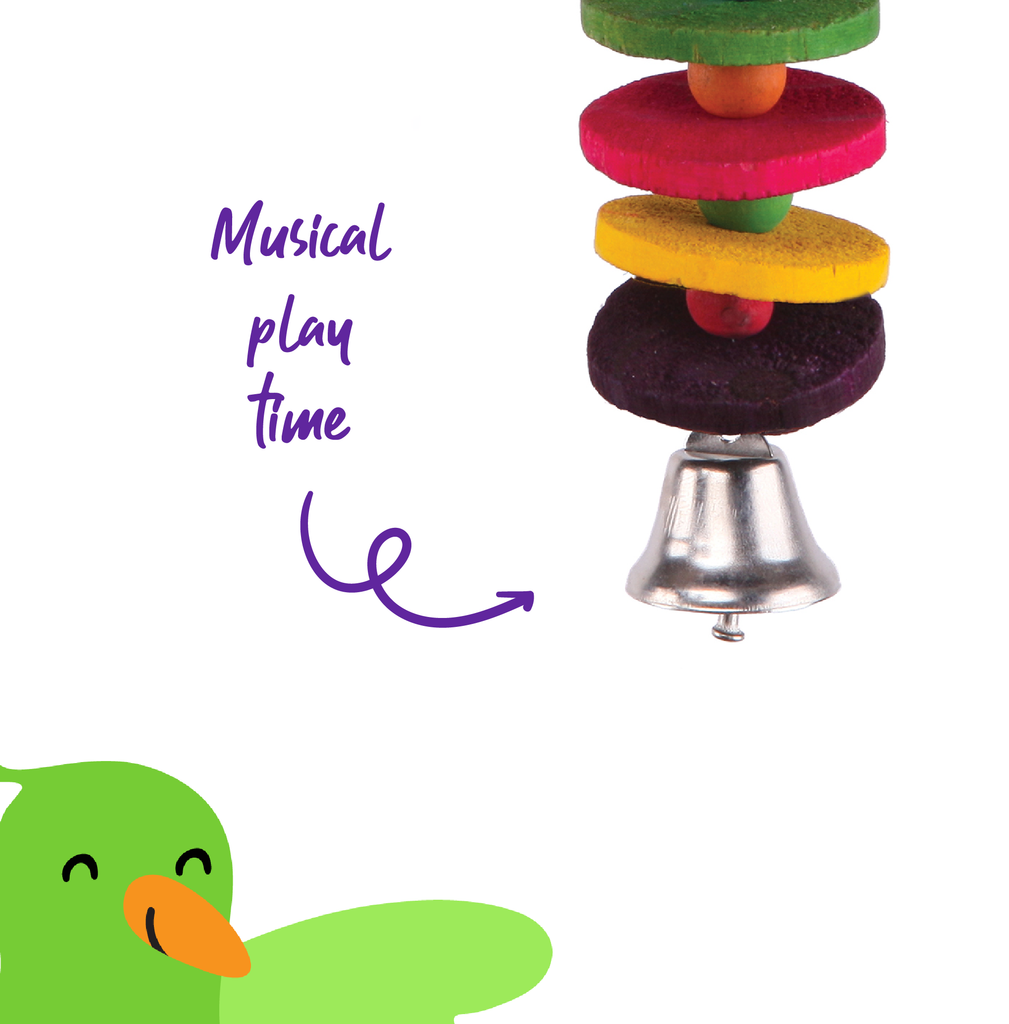 Round Chips & Bell - Kazoo Pet Co