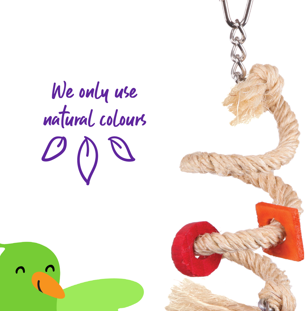 Sisal Rope & Bell - Kazoo Pet Co