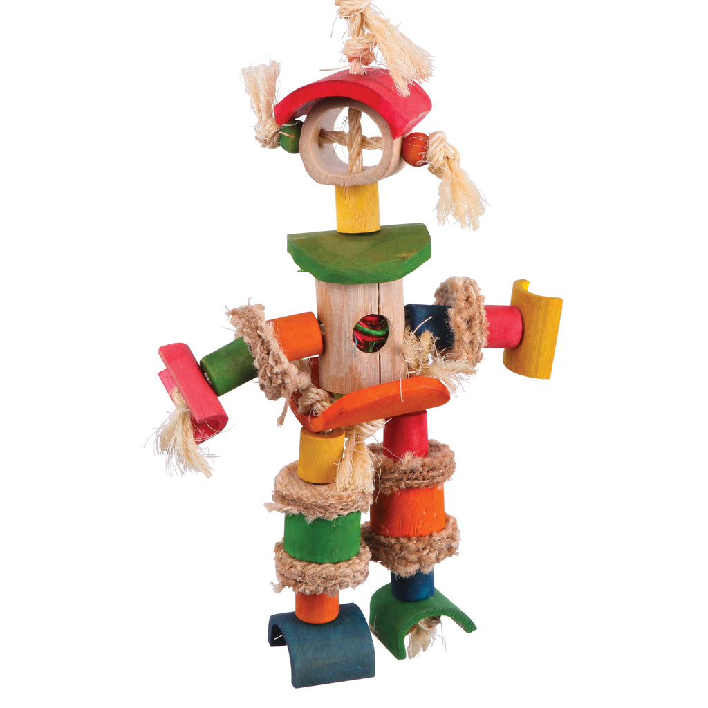Man with Sisal Rope & Chips - Kazoo Pet Co