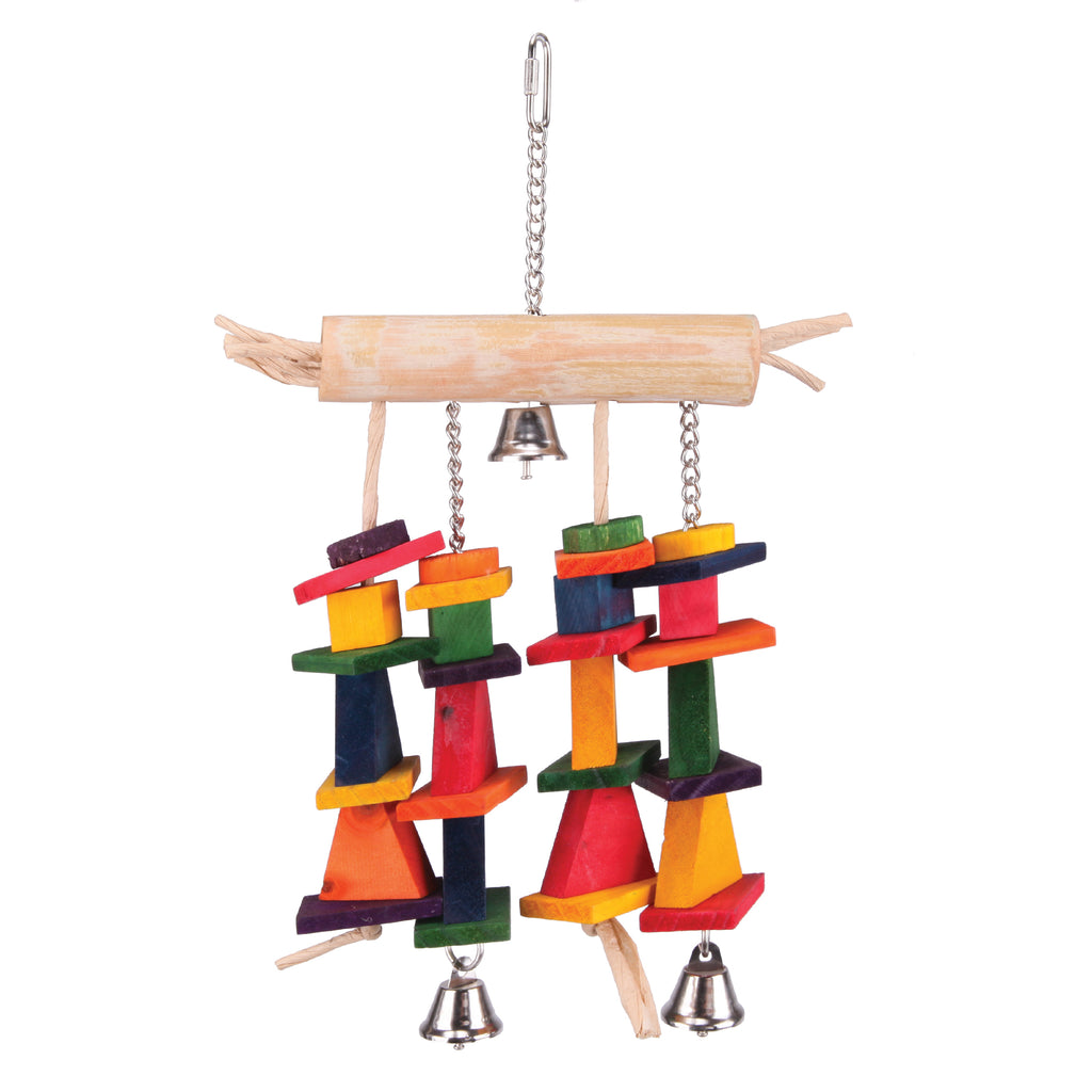 Tee with Hanging Chips & Bells - Kazoo Pet Co