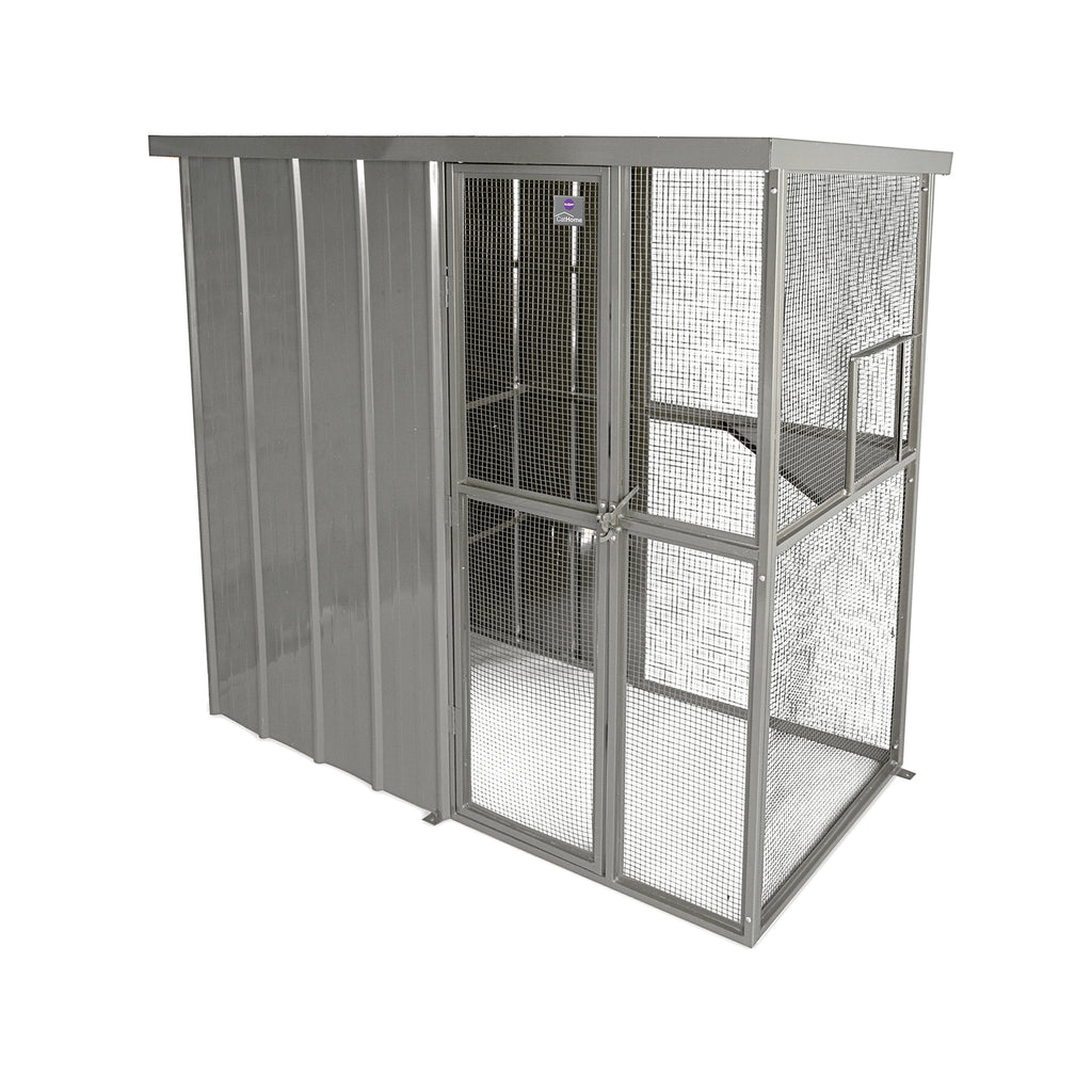 Outdoor Cat Home - Main Enclosure - Kazoo Pet Co