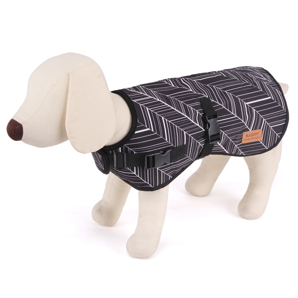 Wet Weather Coat - Ebony - Kazoo Pet Co